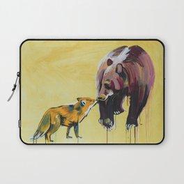Fox and Bear Laptop Sleeve
