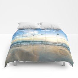 Beach Scene 34 Comforters