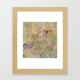 great idea kira Framed Art Print