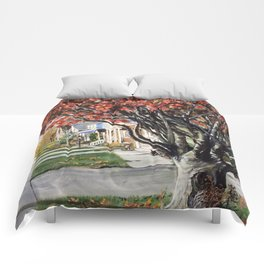 Wednesday Morning on Riale Comforters