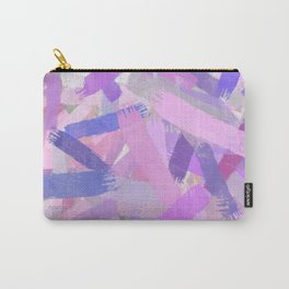 Abstract brush strokes texture Carry-All Pouch