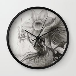 Beware The Knight I Am Becoming Wall Clock