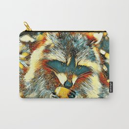 AnimalArt_Raccoon_20170901_by_JAMColorsSpecial Carry-All Pouch
