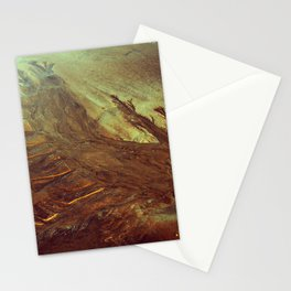 Sand Water Tree Stationery Cards