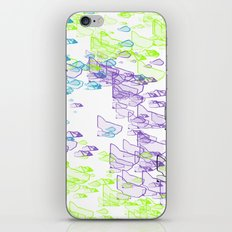 Rock Pattern Inverted iPhone Skin