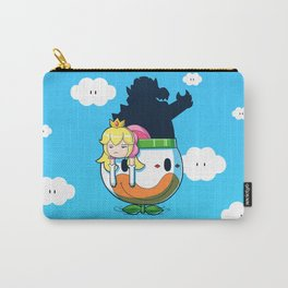 Yay Monday, Peach Carry-All Pouch