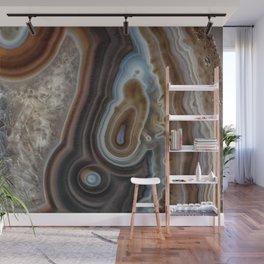 Mocha swirl Agate Wall Mural