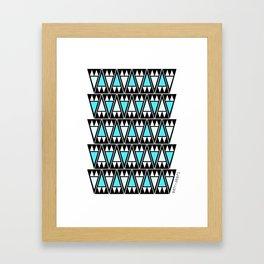 Sky Arrowheads Framed Art Print