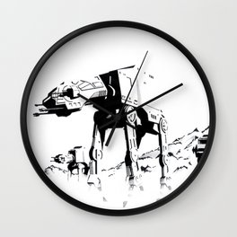 Imperial Walkers Wall Clock