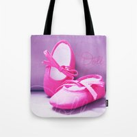 doll Tote Bags featuring DOLL by Alix Création