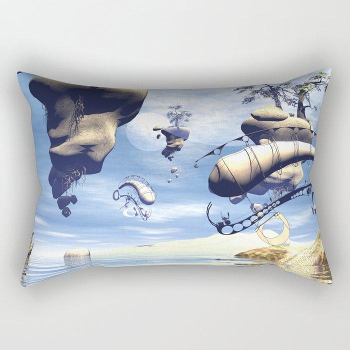 Wonderworld  Rectangular Pillow