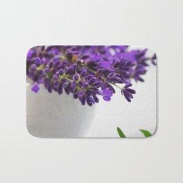 Creative lavender image for healing practice No.2 Bath Mat
