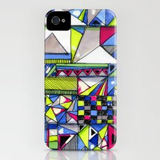 Neon Textures iPhone (4, 4s) Slim Case