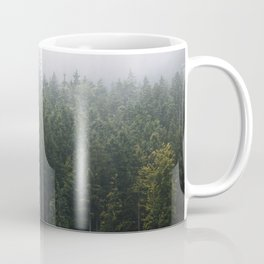 Into the Forest I go – Moody Landscape Photography Coffee Mug