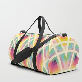 Retro Circles Duffle Bag