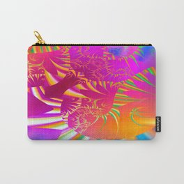All in the Mind (magenta-orange-blue) Carry-All Pouch