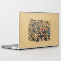 medieval Laptop & iPad Skins featuring - medieval - by Magdalla Del Fresto