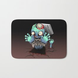 Zombie Monster Cartoon Doll Bath Mat