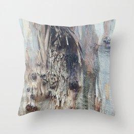Colors of a Eucalyptus Throw Pillow
