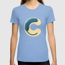 C for Cat T-shirt