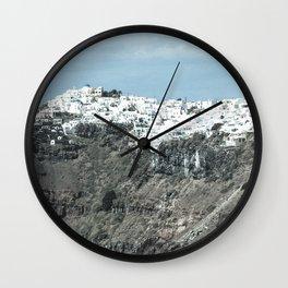 Santorini, Greece 16 Wall Clock
