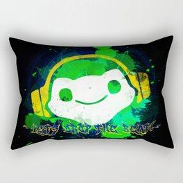 Let's drop the beat! Rectangular Pillow