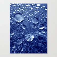 blue water Canvas Print