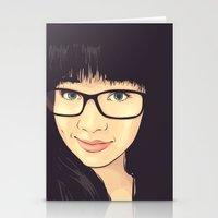 geek Stationery Cards featuring Geek by FalcaoLucas