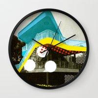 bauhaus Wall Clocks featuring BauHaus 4 by Marko Köppe
