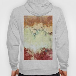 Vintage Abstract Art Hoody