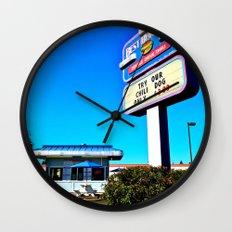 Best Burgers Drive-In Wall Clock