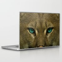 tom selleck Laptop & iPad Skins featuring Tom by Vin Zzep
