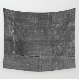 Dark Concrete Texture Print Wall Tapestry