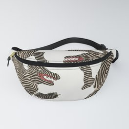 Japanese Tiger Fanny Pack