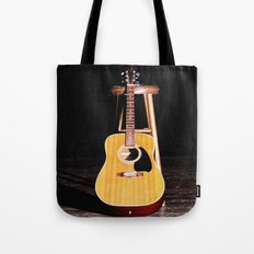 The Silent Guitar Tote Bag