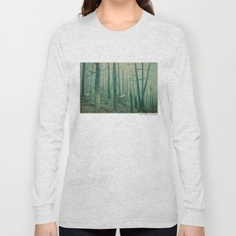 With Canvas Above, We Fall From The Sky Long Sleeve T-shirt