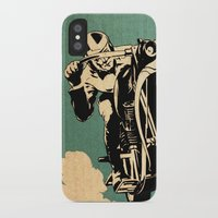 motorcycle iPhone & iPod Cases featuring Motorcycle Race by Fernando Vieira