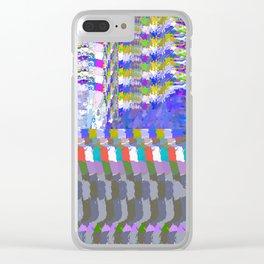 landscape collage #24 Clear iPhone Case