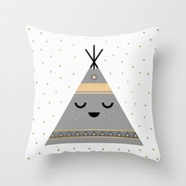 Little Tipi Throw Pillow