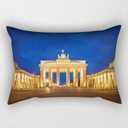 BERLIN Brandenburg Gate Rectangular Pillow