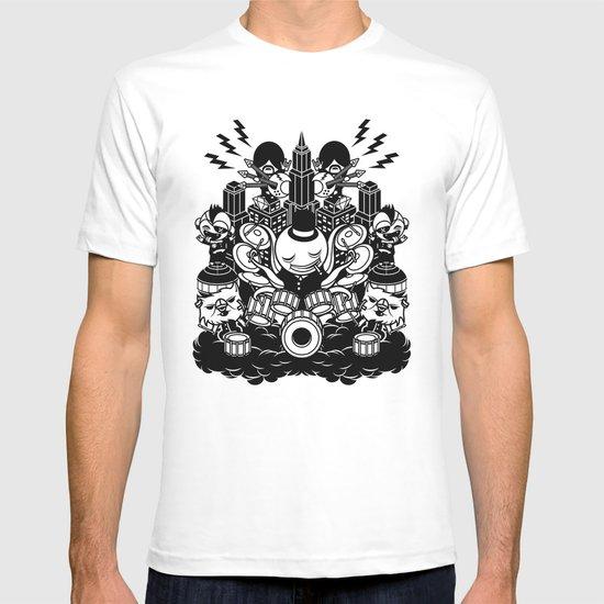 Octopus Drummer 2010 T-shirt