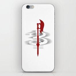 Buffy's Scythe iPhone Skin