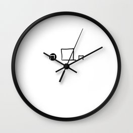 Frames Wall Clock