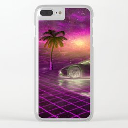 Back to the eighties Clear iPhone Case