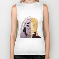 blues brothers Biker Tanks featuring Brothers by Kayla Nicole