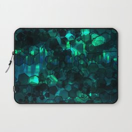 Fever Pitch - Aqua Variant Laptop Sleeve
