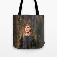 hamlet Tote Bags featuring Hamlet by Wisesnail