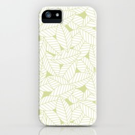 Leaves in Fern iPhone Case