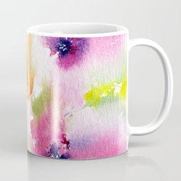 Watercolor Flowers. Summer florals Coffee Mug