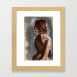 Aimee digital Framed Art Print